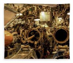 Aft Torpedo Tubes Fleece Blanket