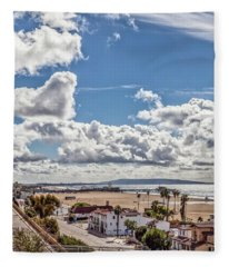 After The Rain - Santa Monica - Panorama Fleece Blanket
