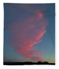 Afterglow Fleece Blanket