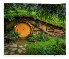 Hobbiton Afternoon Fleece Blanket