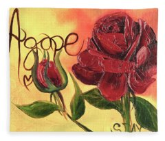Agape Love Fleece Blanket