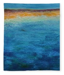 Aguamarina Fleece Blanket