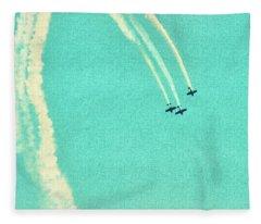 Air Waves Fleece Blanket