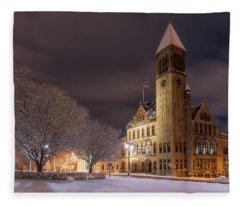 Albany City Hall Fleece Blanket