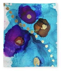 Alcohol Ink - 15 Fleece Blanket