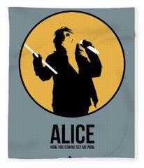Alice Cooper II Fleece Blanket