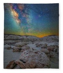 Alien Bonus Fleece Blanket