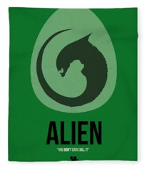 Alien Fleece Blanket