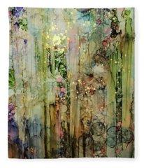 All That Glitters Fleece Blanket