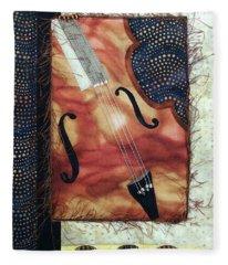 All That Jazz Bass Fleece Blanket