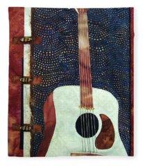 All That Jazz Guitar Fleece Blanket