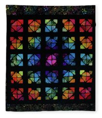All The Colors Fleece Blanket