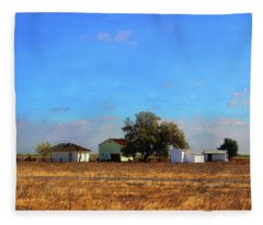 Allensworth Farmstead Fleece Blanket