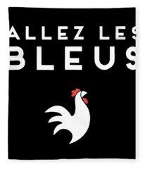 Allezles Bleus Chickend Fleece Blanket