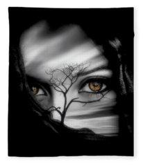 Allure Of Arabia Fleece Blanket