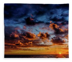 Almost A Painting Fleece Blanket