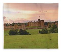Alnwick Castle Fleece Blanket