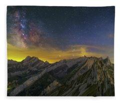 Alpstein Nights Fleece Blanket