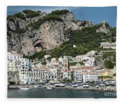 Amalfi Port Fleece Blanket