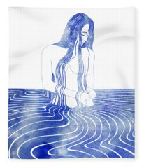 Amatheia Fleece Blanket