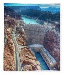 Amazing Hoover Dam Fleece Blanket