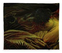 Amber Light Fleece Blanket