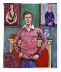 Amedeo Modigliani Fleece Blanket