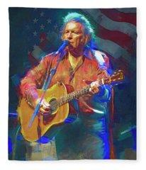 American Pie Fleece Blanket
