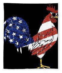 America's Chicken Fleece Blanket
