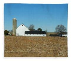 Amish Farm Days Fleece Blanket
