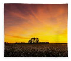 Amplitude Fleece Blanket