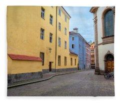 An Innsbruck Street Fleece Blanket