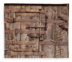 Ancient Gateway Fleece Blanket