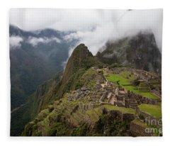 Ancient Ruins Fleece Blanket