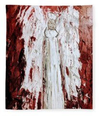 Angel Against Violence Fleece Blanket