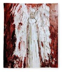 Angel Against Violence Fleece Blanket