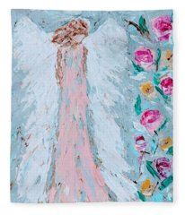 Angel For Childbirth And Fleece Blanket