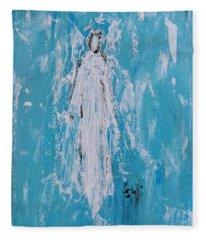 Angel For Grievance Fleece Blanket