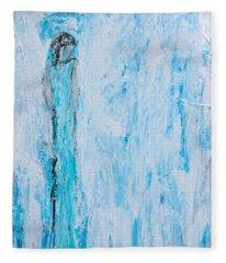 Angel Of Dreams And Hope Fleece Blanket
