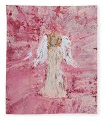 Angel Was Lost But Now Is Found  Fleece Blanket
