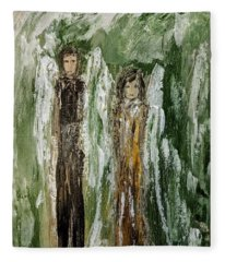 Angels For Support Fleece Blanket