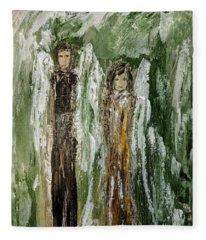 Angels For Support Fleece Blanket