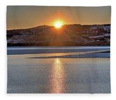 Angostura Sunset Fleece Blanket