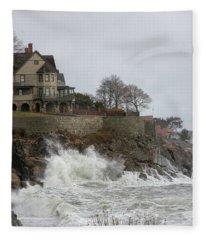 Angry Splash Fleece Blanket