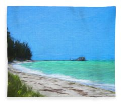 Anna Maria North Shore Fleece Blanket