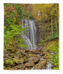 Anna Ruby Falls Left Fleece Blanket