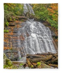 Anna Ruby Falls Right Fleece Blanket