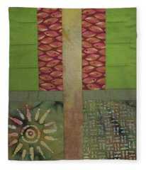 Another Fragment Of The Frontier Of Beauty Fleece Blanket