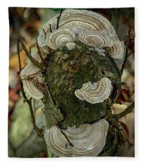 Another Fungus Fleece Blanket