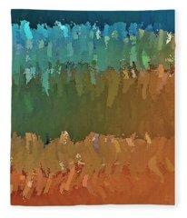 Another Painted Desert Fleece Blanket